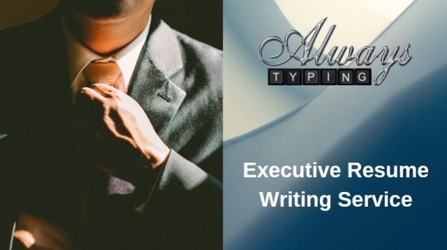 man adjusting tie executive resumes