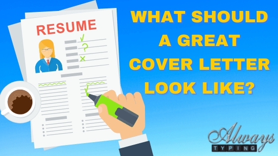 what should a great cover letter look like