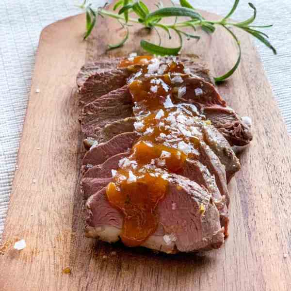 Duck in Orange Sauce - Duck a l'Orange [Gluten-free, dairy free]