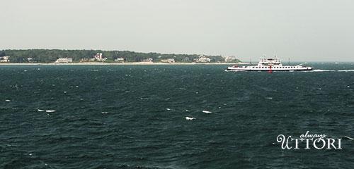 Martha's Vineyard, boat on atlantic ocean, always uttori, alternate universe, travel