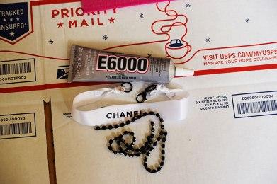 Chanel Ribbon Choker D-I-Y