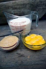 crème brûlée ingredients. Photo Credit: I'mari Avey. Alwaysuttori.com