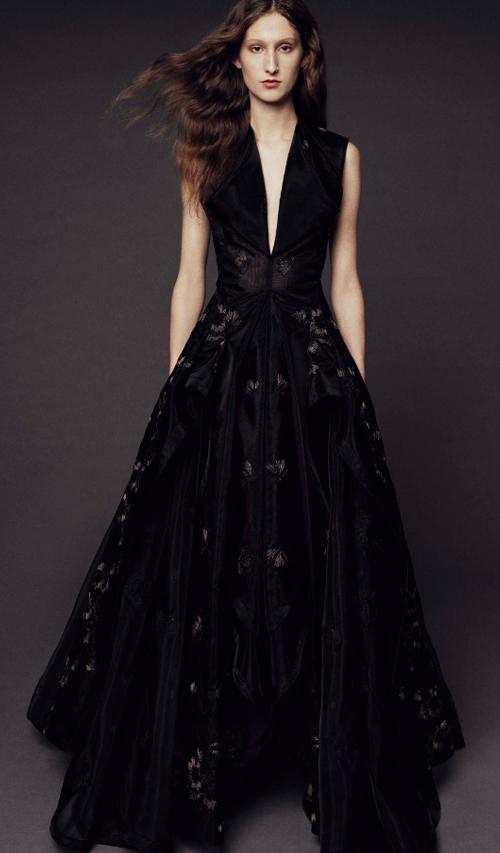 Photo Credit: Zac Posen via vogue.com. INTJ Fashion Trend Report for 2017. Alwaysuttori.com