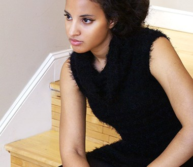 Fuzzy Rock, Feature Photo. Photo Credit: Mechelle Avey. Introvert Life: Cozy Couture Look 4. Alwaysuttori.com