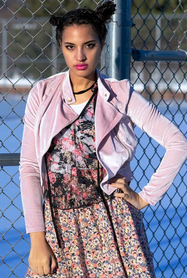 I'mari Avey, New Punk Style: Girly Punk, Photo 1. Photo Credit: Mechelle Avey.New Punk Style: Girly Punk. Alwaysuttori.com
