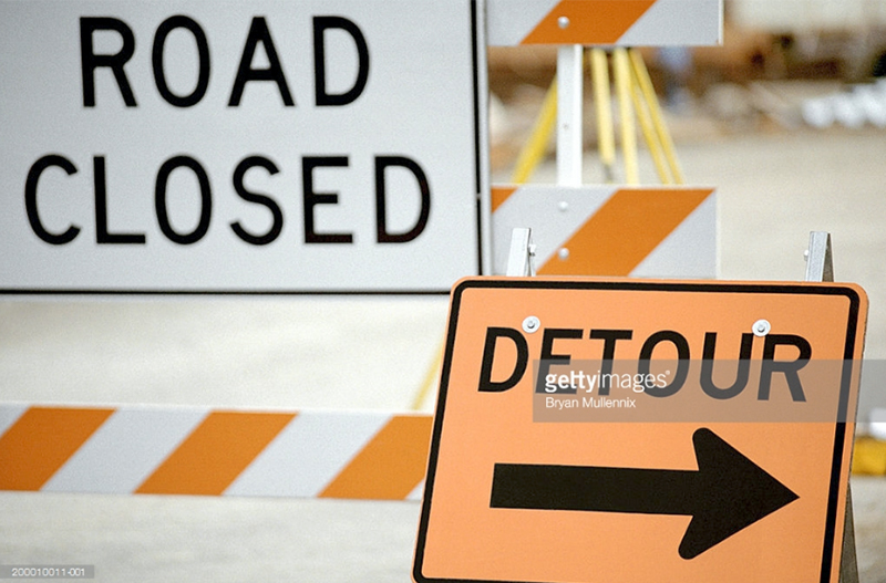 Road Block Signs. Photo Credit: Bryan Mullennix - 200010011-001. gettyimages.com. INTJ Mastering Mastermind States 2. Alwaysuttori.com