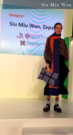 Siu Miu Wan, Look 1. Photo Credit: I'mari Avey. Global Fashion Outlook 2018. Alwaysuttori.com