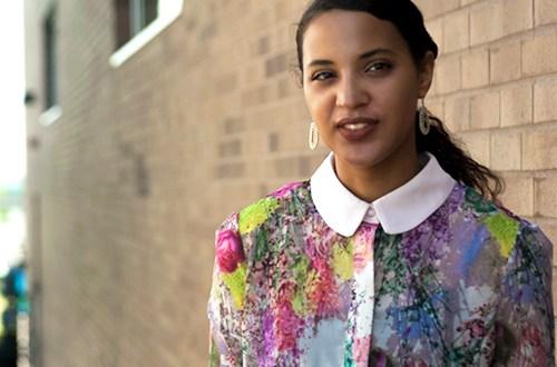 Spring Fashion Shorts, Always Uttori Fashion Blogger, I'mari Avey. Photo Credit: Mechelle Avey. Spring Fashion: Fresh Air. Alwaysuttori.com