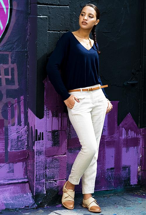 Girl Boss Fierce, L9, P1. Photo Credit: Mechelle Avey. Spring Fashion, Girl Boss Fierce, Look 9. Alwaysuttori.com