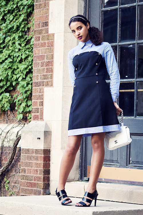 STB LOOK 3: Popular Girl, P2. Photo Credit: Mechelle Avey. Slay The Books Looks Back to School Fashion 2017 Look 4. Alwaysuttori.com