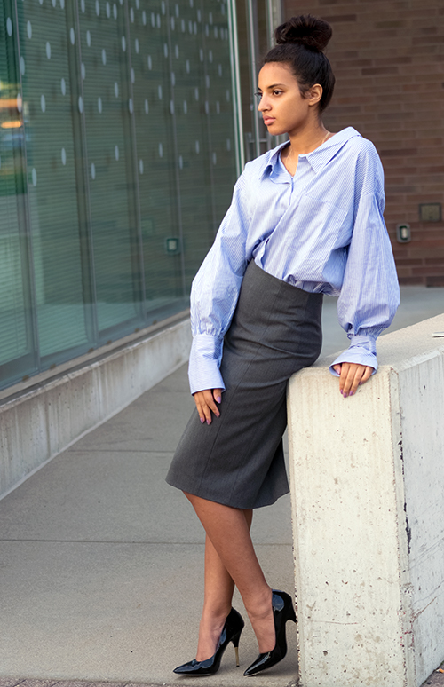 STB Look 4GU, P1. Photo Credit: Mechelle Avey. Slay The Books Looks Back to School Fashion 2017 Look 4 Grown Up Version. Alwaysuttori.com