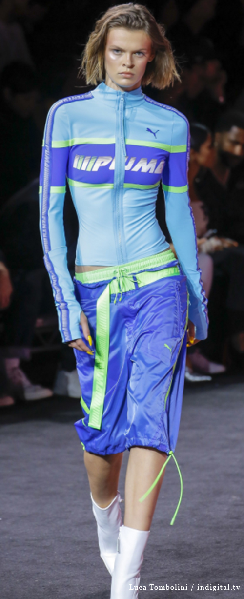 Fenty 10. Photo Credit: Luca Tombolini / indigital.tv via Vogue.com. Spring 2018 Athleisure Forecasts: Everything's Coming Up Fenty X Puma. Alwaysuttori.com