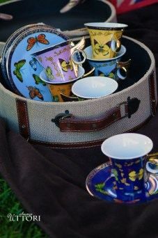 Tea Set. Photo Credit: Always Uttori. In Royal Fashion | The Modern Royal | Ruffed and Ready. Alwaysuttori.com.