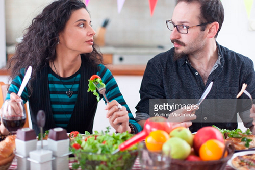 Family Conflict. Photo Credit: Vladimir Vladimirov - 831699738. gettyimages.com. Introvert Guide to Hosting the Family Celebration. Alwaysuttori.com