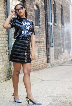Boss Girl Style, Look 3. Photo Credit: Always Uttori. 5 Bossed Up Spring Transition Fashion Styles. Alwaysuttori.com