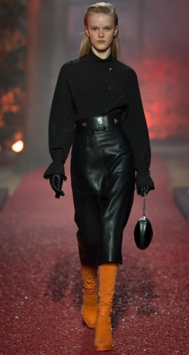 Hermes Fall 2018. Photo Credit: Yannis Vlamos via Vogue.com. Fall Fashion Guide for INTJ Fashionistas