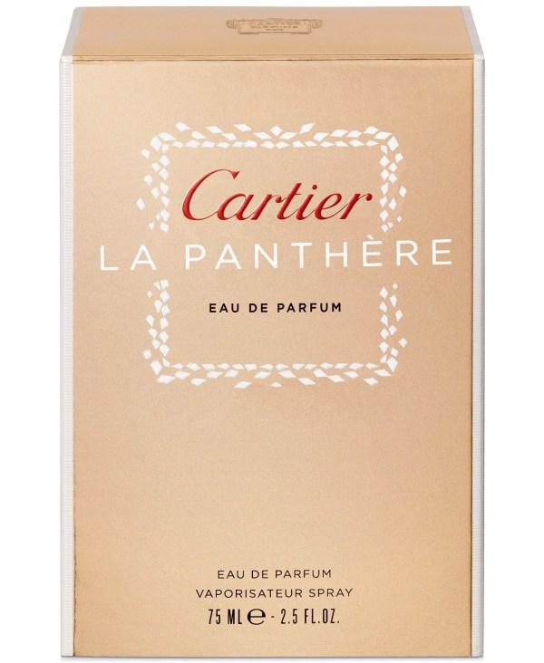 Cartier La Panthère Eau de Parfum Spray, 2.5 oz (w)