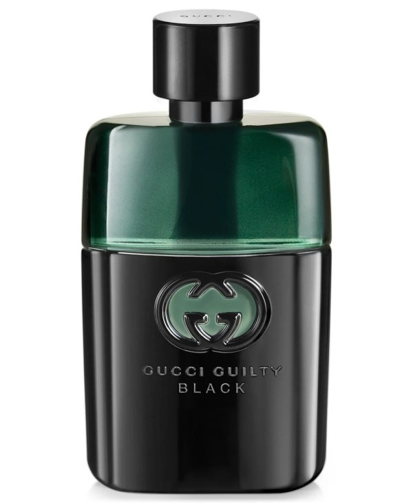 Guilty Men's Black Pour Homme Eau de Toilette, 3 oz