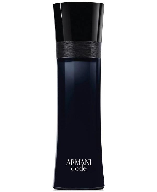 Giorgio Armani Armani Code for Men Eau de Toilette Spray, 4.2 oz.