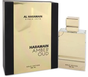 Haramain Amber Oud Gold Edition Eau De Parfum 4 Oz