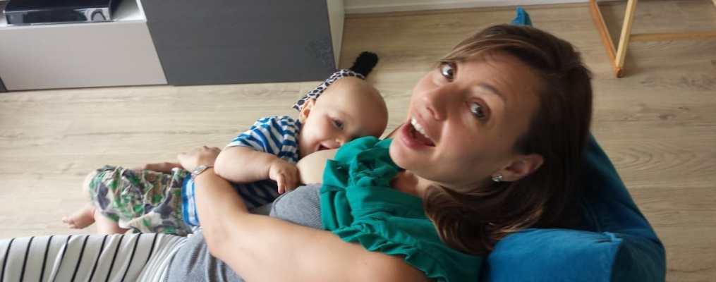 borstvoeding is te gezellig om te stoppen