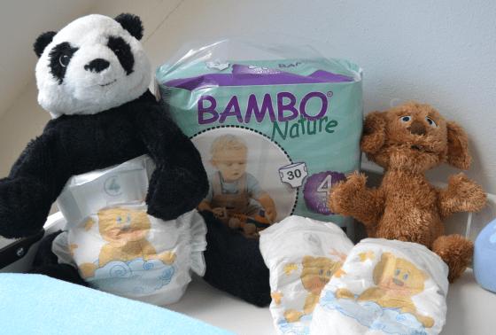 panda met bambo