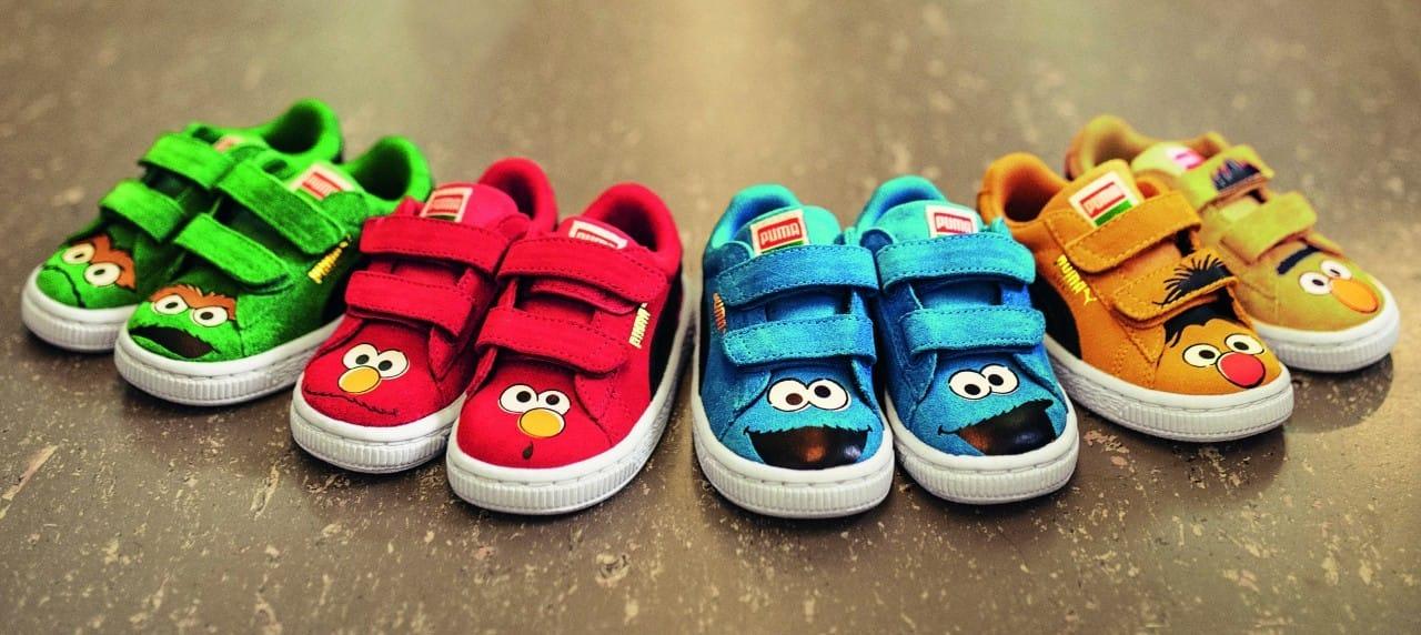 eecd8d004cf Sesamstraat schoentjes van PUMA - Alweer een nieuwe moeder blog ...