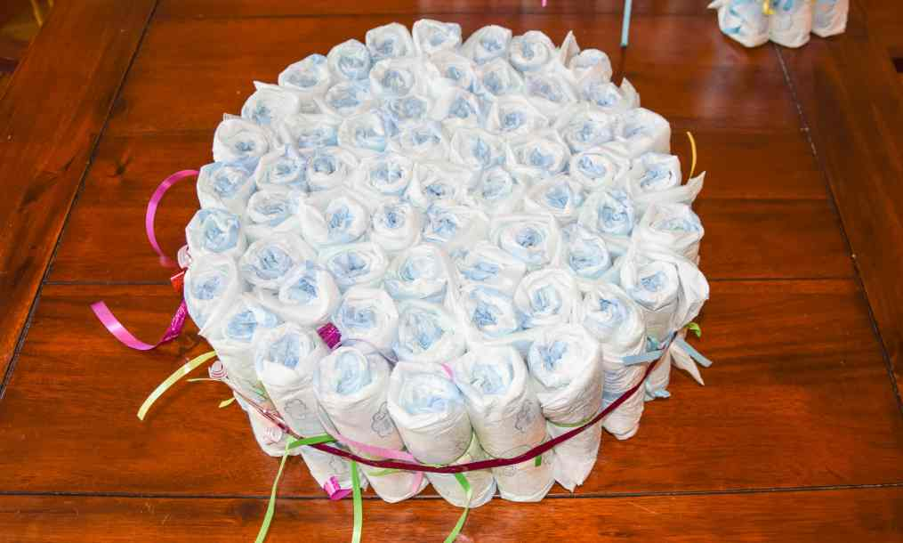 luiertaart diaper cake 7 star