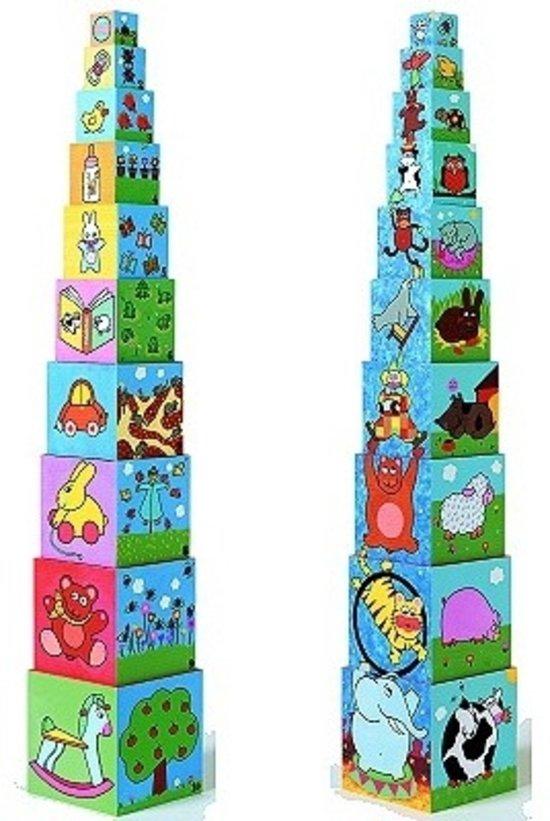 kartonnen stapelblokken imaginer-djeco