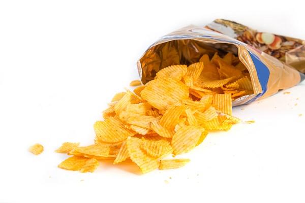 hoeveel zout in chips
