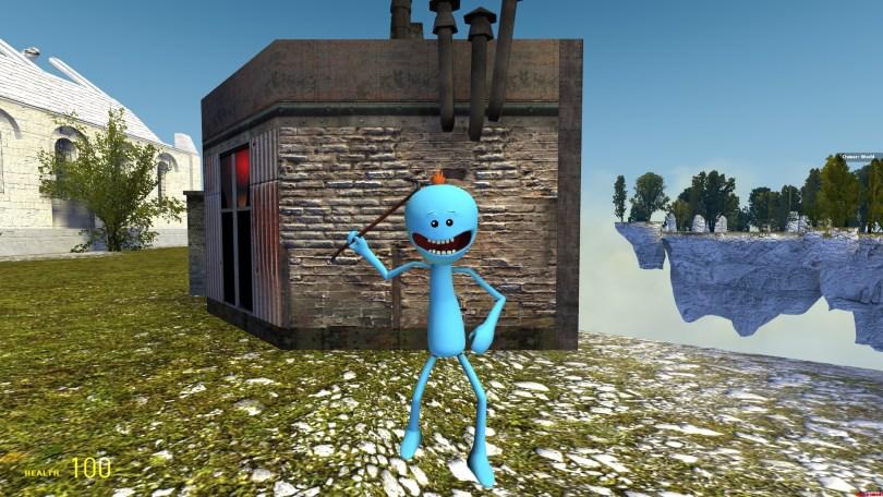 Hi I'm Mr. Meeseeks! Look at me! :P