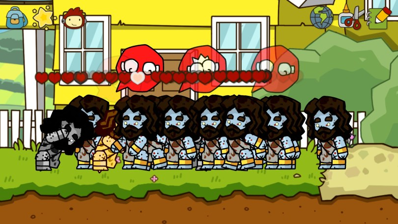 Clones of Zombie Jesus beating each other up. :P