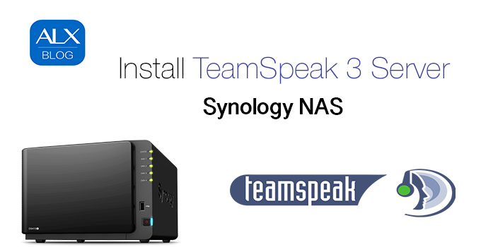 Installation TeamSpeak 3 Server auf Synology NAS