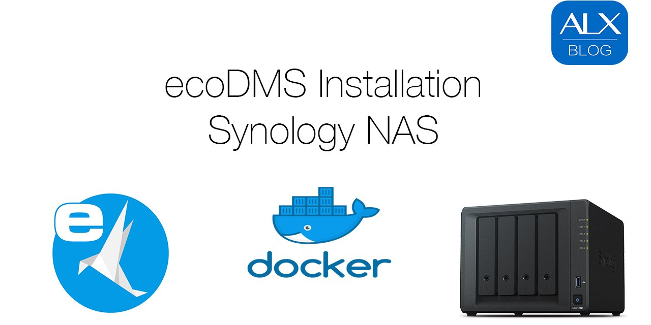 ecoDMS Server 16.09 – Installation auf Synology NAS