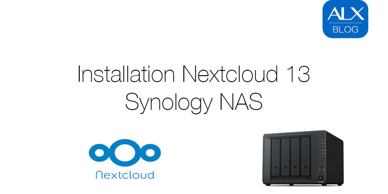 Installation Nextcloud 13/14 auf Synology NAS