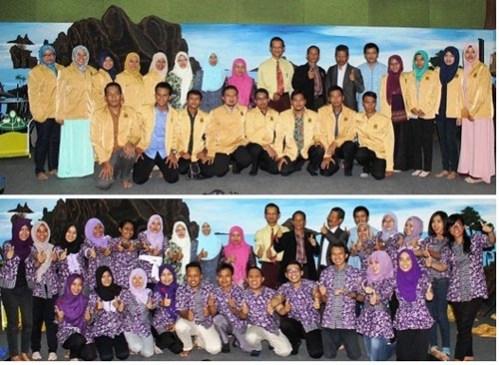 Mahasiswa Pascasarjana S2 Universitas negeri Semarang bersama dosen pembimbing dan guru Sekolah Unggulan Al-Ya'lu