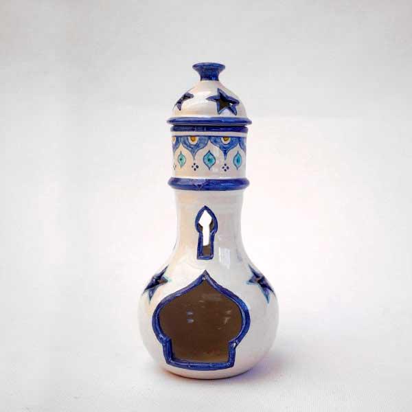 Ceramic oil odorizer