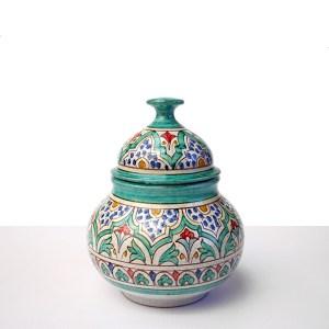 Bombonera de ceramica granadina