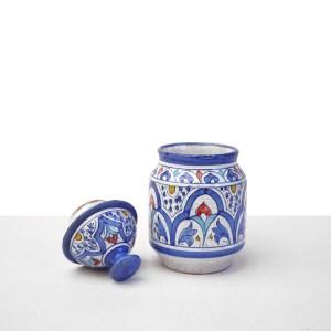 Especiero andalusí azul