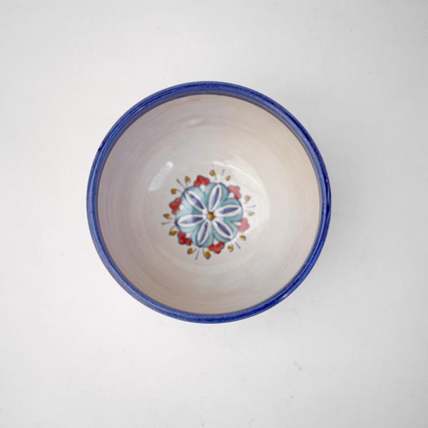 Small blue granada bowl
