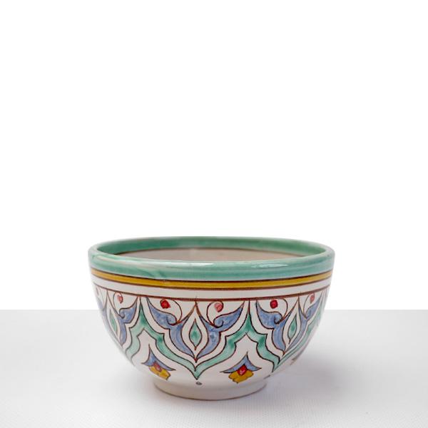 Small green granada bowl