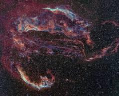 Kuğu Takımyıldızından Veil Nebulası