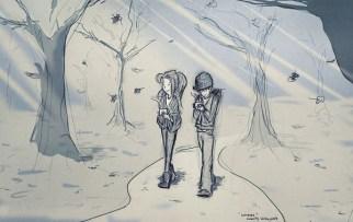 Uzun kış yürüyüşlerimiz…
