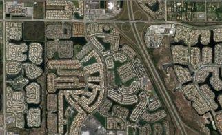 ABD – Florida'nın kuşbakışı görünümü