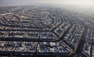 HOLLANDA – Amsterdam'ın kuşbakışı görünümü