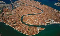 İTAYLA – Venedik'in kuşbakışı görünümü
