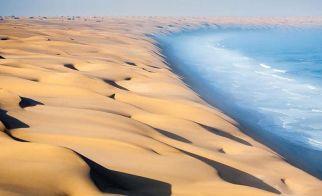 NAMİBYA – Namib Çölü'nün kuşbakışı görünümü