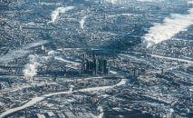 RUSYA – Moskova'nın kuşbakışı görünümü