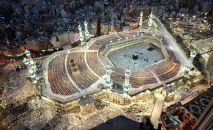 SUUDİ ARABİSTAN – Mekke'nin kuşbakışı görünümü