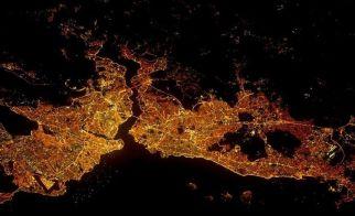 TÜRKİYE – İstanbul'un kuşbakışı görünümü